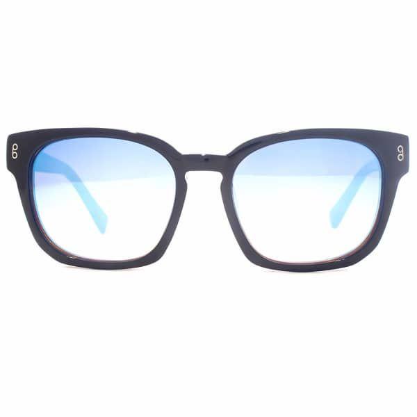 Colston Navy Sunglasses | Hook LDN | Wolf & Badger  /  Women / Accessories / Sunglasses