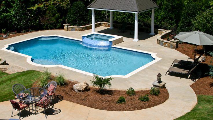 43 best custom landscape design images on pinterest for Leblanc custom homes