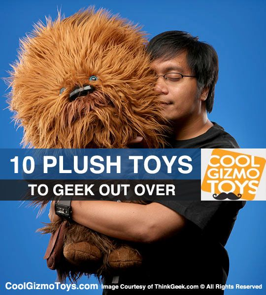 10 Plush Toys To Geek Out Over.