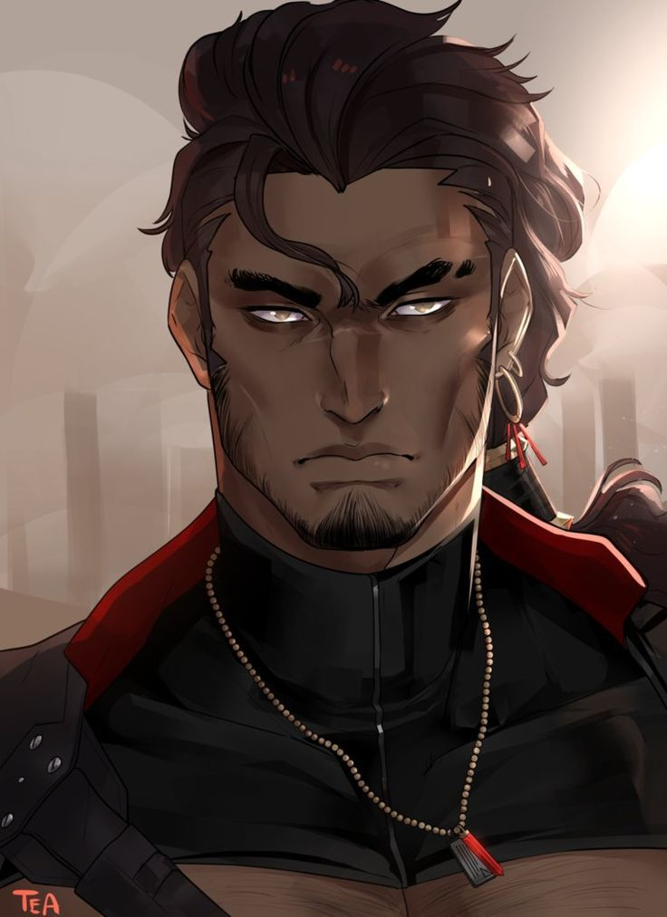 Black Fantasy Characters Art