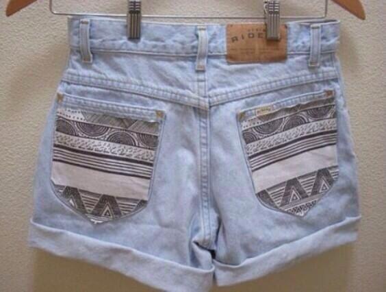 DIY short pockets
