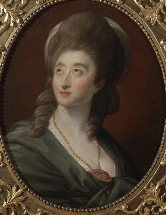 Aleksandra potocka z lubomirskich, , mal. Pompeo Battoni, 1780, ze zbiorów Muzeum Pałacu w Wilanowie. Fot. W. Holnicki.