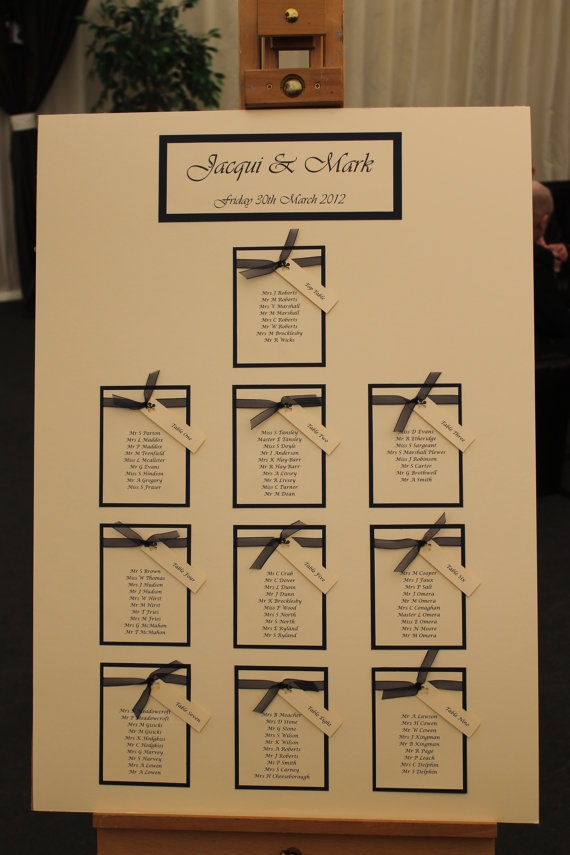 how to create a wedding seating chart je taime pinterest