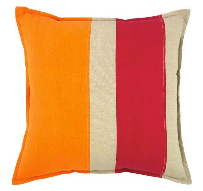 Newport 50x50cm Filled Cushion Tangello | Manchester Warehouse