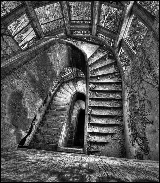 The abandoned Sanatorium du Vexin, Aincourt, France.