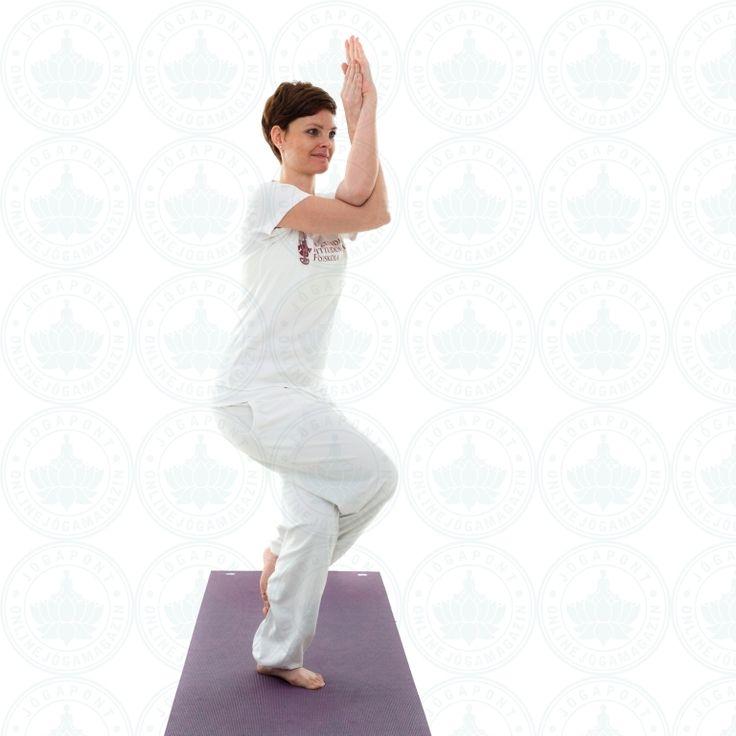 Garudászana - Saspóz - Jógapont Online jógamagazin