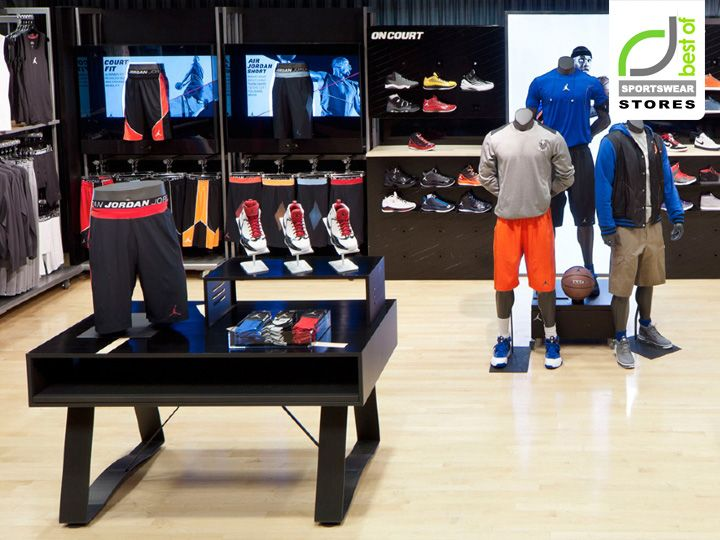 Jordan store interactive display by Michael Eaton
