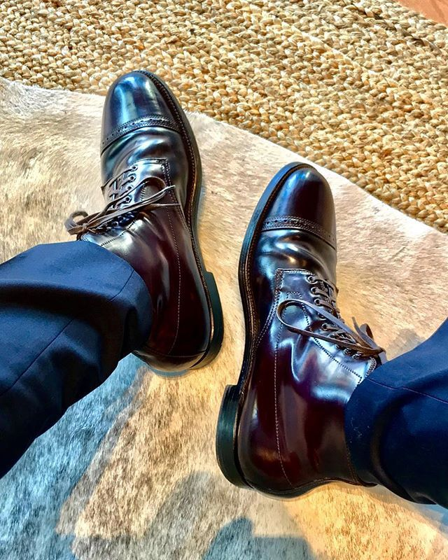 a0da31a8809 jpm1shoes Alden for JCrew Shell Cordovan Cap Toe Boots & Alton Lane ...