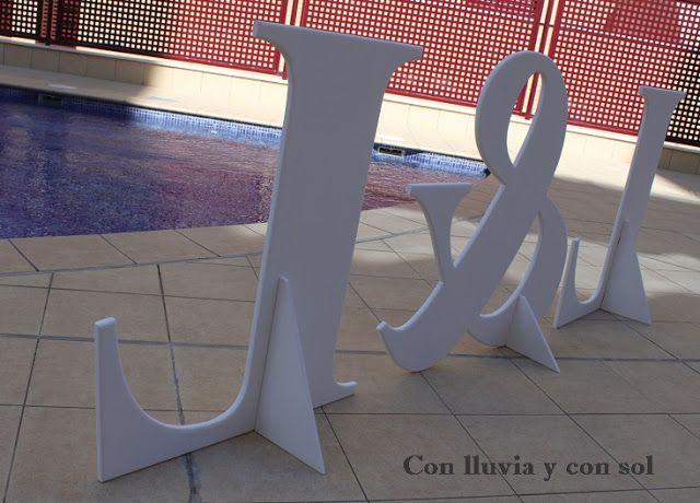 decoracion en madera para bodas y para nios letras gigantes para bodas