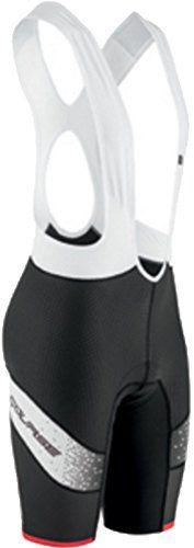 Louis Garneau Cb Carbon Lazer Bib Shorts - Men's Black/White/Ginger, L