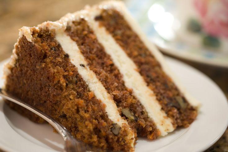 Svieža mrkvová torta
