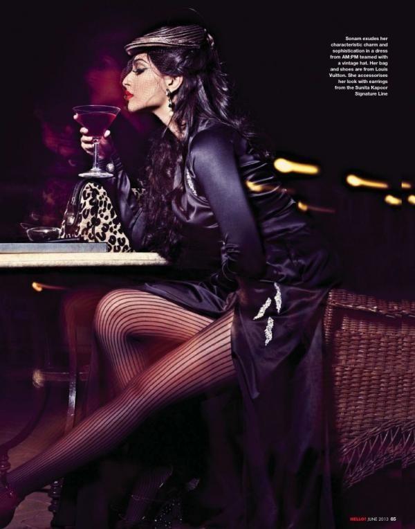 Sonam Kapoor's Photoshoot for HELLO! Magazine. #Bollywood #Style #Fashion
