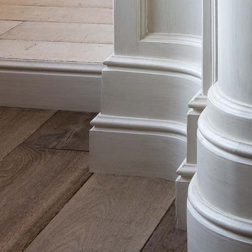 SX 118 Plastic Skirting Board - Interior Architectural Mouldings - House Martin Online