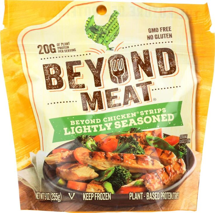 BEYOND MEAT Lightly Seasoned Chicken‑Free Strips, 9 oz