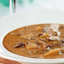 Creamy Hungarian Mushroom Soup - EatingWell.com