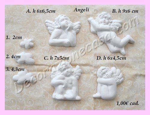 Angeli in gesso profumato