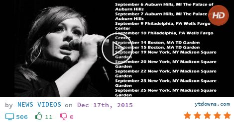 Download Adele tour dates 2016 videos mp3 - download Adele tour dates 2016 videos mp4 720p -...