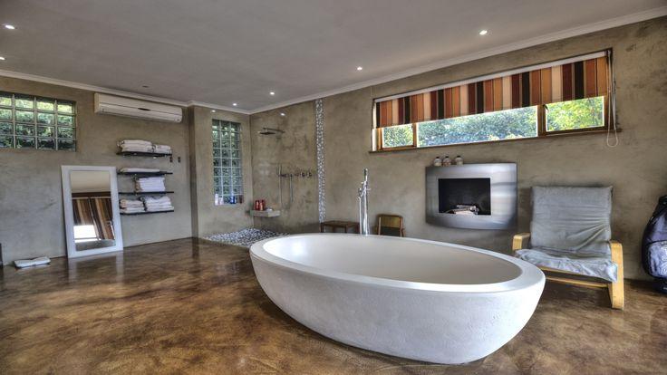 Main en-suite bathroom, open plan with bedroom  #tub #bathtub #luxury #bathroom #decor #design #inspiration #lifestyle