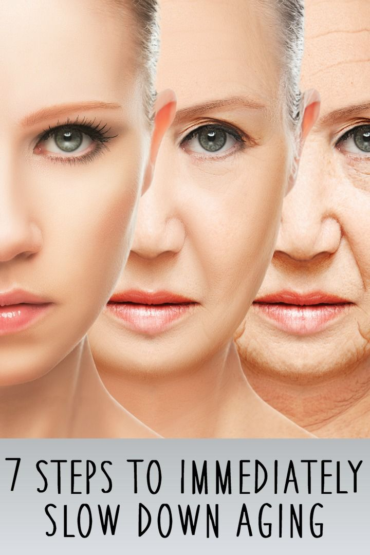 7 Steps To Immediately Slow Down Aging ~ http://healthpositiveinfo.com/slow-down-aging.html