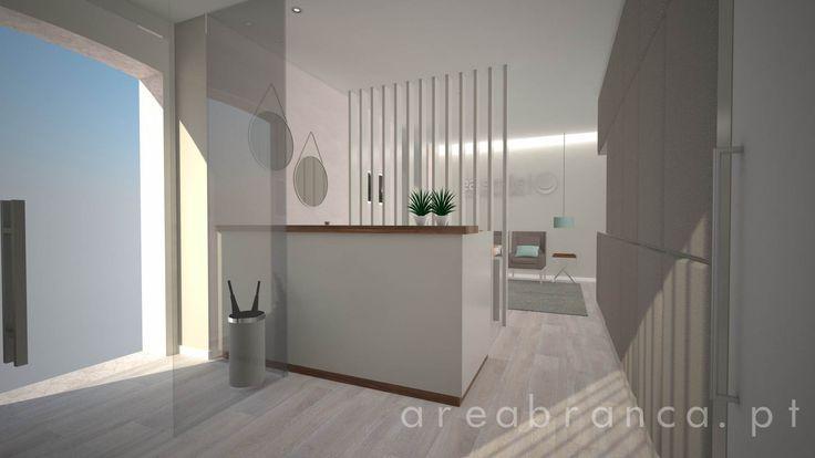 Recepção | Reception #arquitetura #areabranca #architecture #designinteriores #interiordesign