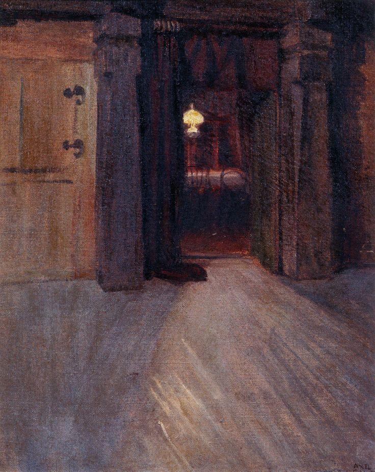The Athenaeum - Entrance to Kalela's Dining Room (Akseli Gallen-Kallela - )