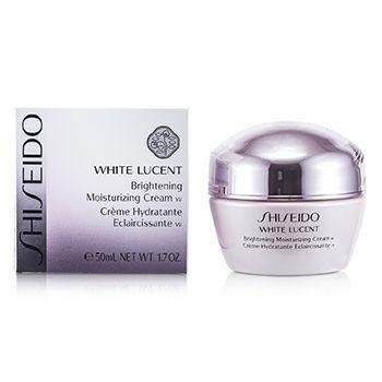 White Lucent Brightening Moisturizing Cream W - 50ml-1.7oz. -A superb lavish brightening moisturizer-Helps repair sun-damaged skin during regeneration phase at night-Reconditions skin's texture & enables it to seize glow-Newly formulated with Multi-Target Vitamin C to lessen existing pigmentation-Blended with Tranexamic Acid to prevent dark spots-Contains Super-Hydro Synergy Complex for intense hydration-Plus Erythritol & Apricot Extracts to normalize cell turnover to reconstruct…
