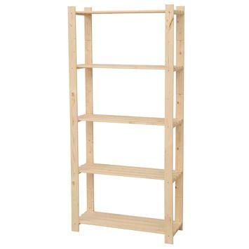 GAMMA opbergrek hout 170x80x30 cm