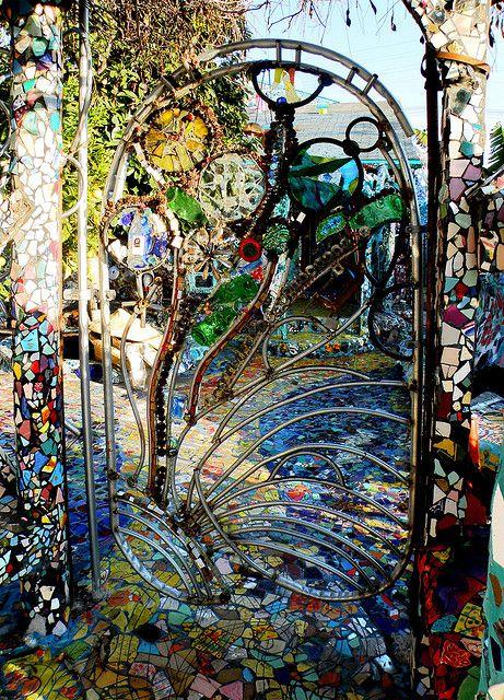 Mosaic House Gate