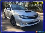 2009 Subaru Impreza MY09 WRX (AWD) Silver Manual 5sp M Sedan