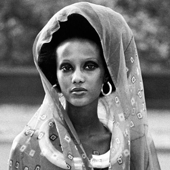 See Supermodel Iman's Transformation - 1975 from InStyle.com