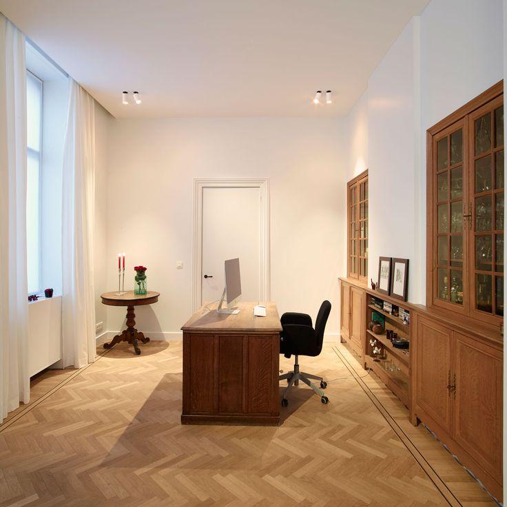 home office inspiration by delta light featuring the midispy clip - Mehrschichtholz Gegen Laminat In Der Kche