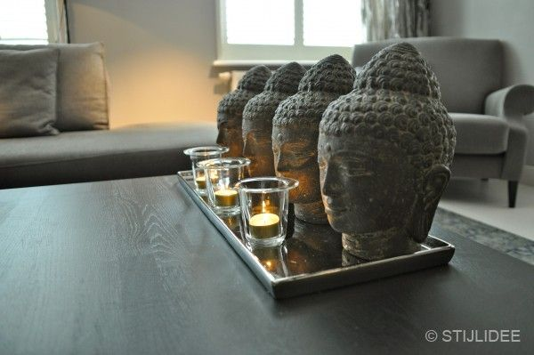 Groepje boeddha's bij interiors dmf in zeist   Fotografie STIJLIDEE Interieuradvies en Styling