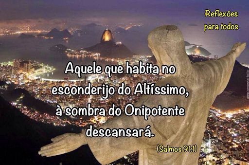 SALMO 91 - Clique na imagem e encontre o Salmo 91, completo, com link para o vídeo na voz de Cid Moreira.