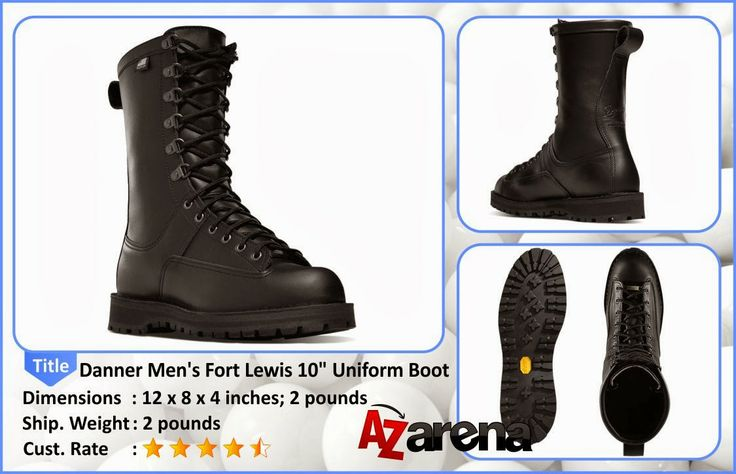 """Danner Men's Fort Lewis 10"""" Uniform Boot 
