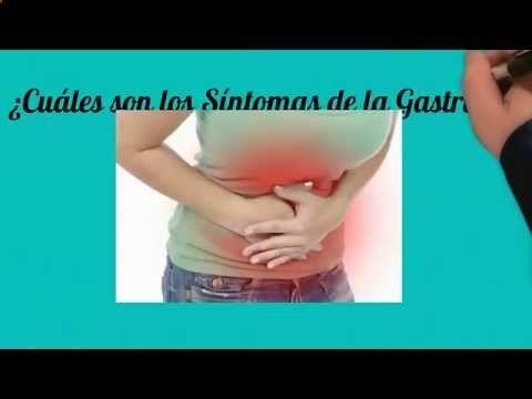 ¿Cuáles son los sintomas de la Gastritis? - YouTube