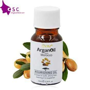 Pure argan oil for hair care 10ml high quality hair oil treatment hair care products for repair hair Professional Makeup Brush Set