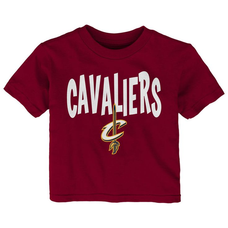 Kyrie Irving Cleveland Cavaliers adidas Infant Name and Number T-Shirt - Wine