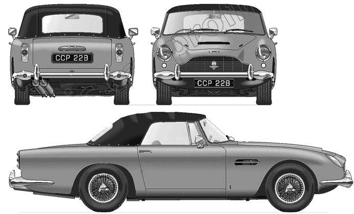1965 Aston Martin DB5 Volante Cabriolet