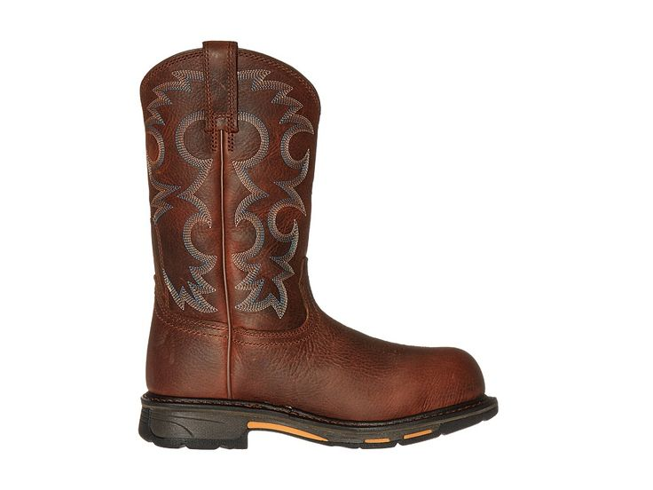 Ariat Workhog Pull-On CT Women's Work Boots Nutty Brown