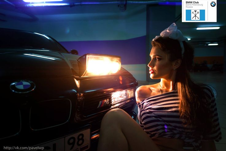 BMW Girl Saint-Petersburg