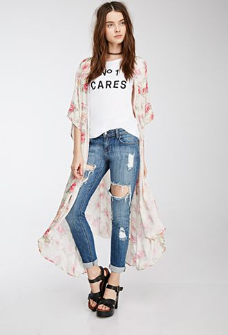 Distressed Skinny Jeans   FOREVER21   #thelatest   Outfits   Pinterest   Distressed skinny jeans, Forever21 and Skinny jeans