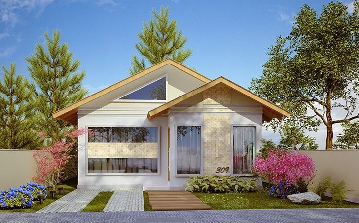15 fachadas de casas térreas para você se inspirar + Dicas para decorar - Casinha Arrumada
