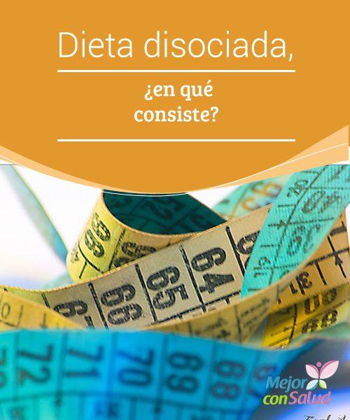 Dieta disociada, ¿en qué consiste?  La dieta disociada tiene un principio, que se basa en la idea de no mezclar determinados grupos de alimentos, ya que ingeridos juntos se convierten en grasa con más facilidad que por separado.