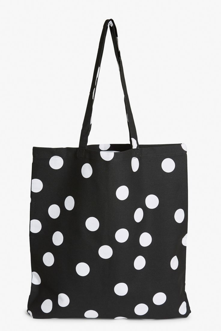 Oh the life of a tote bag - they see so much! Take this polka-dotted beauty from the beach and back or wherever else you can think of!