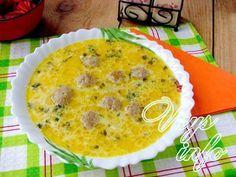 рецепт Суп с фрикадельками и сыром