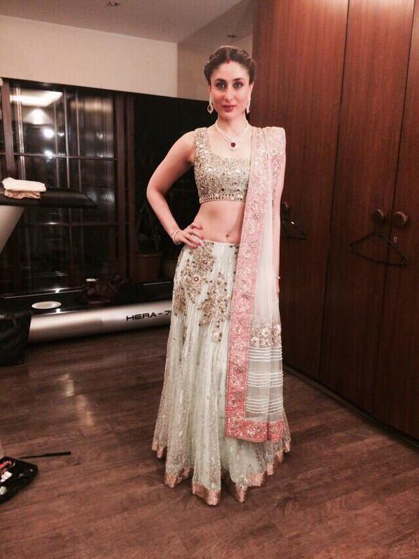 Kareena Kapoor Khan at Soha Ali Khan reception in Manish Malhotra