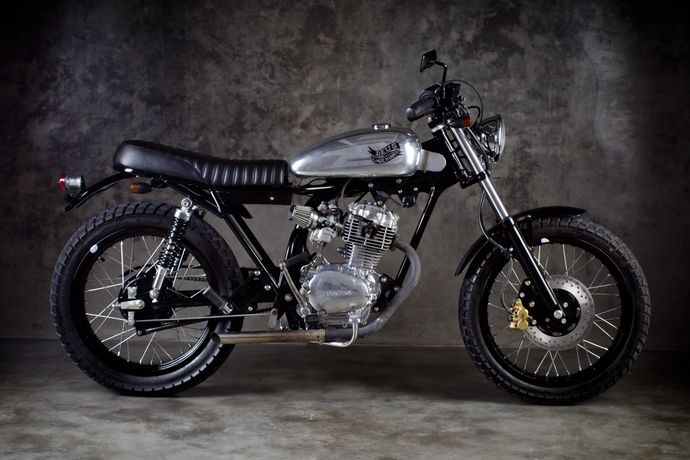 Deus CB100 - TheProspect - Pipeburn - Purveyors of Classic Motorcycles, Cafe Racers & Custom motorbikes