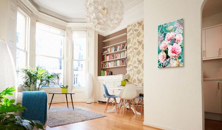 Obraz w stylu vintage! Romantyczny obraz na płótnie sprawdzi się nie tylko w kobiecym salonie - polecamy go do każdego wnętrza, w którym chcesz stworzyć ciepłą i przytulną atmosferę!