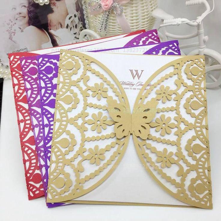 Pinterestteki 25den fazla en iyi Butterfly wedding invitations fikri – Elegant Butterfly Wedding Invitations