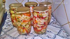 Pestrá chrumkavá čalamáda bez sterilizácie (fotorecept) - Recept